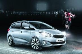 KIA Motors Deutschland GmbH: Ökonomischer Antrieb, hoher Komfort: Neues Sondermodell des Kia Carens*
