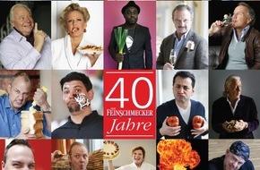 """Jahreszeiten Verlag, DER FEINSCHMECKER: Vom """"Wienerwald"""" zum Wasabi / 40 Jahre und kein bisschen leise: DER FEINSCHMECKER feiert Jubiläum mit einer opulenten Sonderausgabe"""