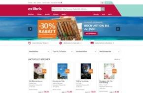 Ex Libris AG: Ex Libris mit neuem Online-Shop und Auftritt