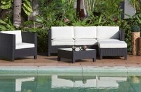 Conforama: Bei Conforama feiern die Gartenmöbel den Sommer
