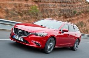 Mazda: Mazda6 2015: Umfassendes Upgrade für das Aushängeschild