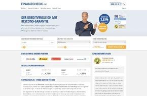 FFG FINANZCHECK Finanzportale GmbH: Facelift: FINANZCHECK.de im neuen Design