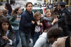 """ProSieben Television GmbH: Extravagante Zombie-Apokalypse: Brad Pitt in """"World War Z"""" auf ProSieben (FOTO)"""