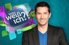 """SAT.1: Lange überlegen? Fehlanzeige! """"Was weiß ich?!"""", die vielleicht schnellste Quizshow im deutschen Fernsehen"""