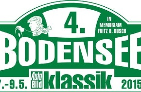 AUTO BILD: 4. Bodensee-Klassik 2015: Der Countdown für die Anmeldung läuft