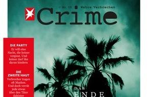 """Gruner+Jahr, STERN CRIME: Jiliane Hoffman im STERN CRIME-Interview: """"Trauen Sie keinem gut aussehenden Menschen."""""""