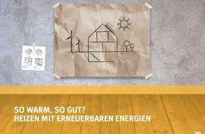 vzbv - Verbraucherzentrale Bundesverband e.V.: So warm, so gut? Kostenlose Energieberatung der Verbraucherzentrale zum Heizen mit erneuerbaren Energien