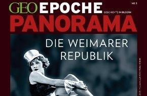 """Gruner+Jahr, GEO EPOCHE: GEO EPOCHE PANORAMA: """"Die Weimarer Republik"""""""