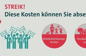 Vereinigte Lohnsteuerhilfe e. V.: Streik: Eltern können Zusatzkosten absetzen