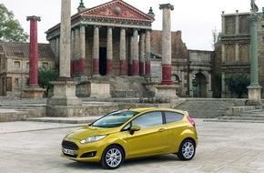 Ford-Werke GmbH: Ford Fiesta: neue Motoren, neue Farben und weitere Updates für Europas meistverkauften Kompaktwagen (FOTO)