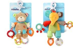 Migros-Genossenschafts-Bund: Die Migros ruft ein Activity-Plüsch-Spielzeug zurück