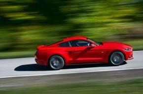 Ford-Werke GmbH: Starkes Design, moderne Technik, Top-Fahrleistungen: Deutsche Messepremiere für den Ford Mustang in Essen