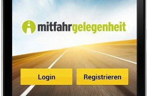 mitfahrgelegenheit.de: Innovation für die Mitfahrgelegenheit / Meet Me Now navigiert Fahrer und Mitfahrer zueinander