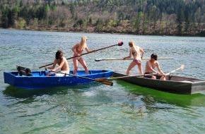 """ALPBACHTAL SEENLAND Tourismus: Sommeropening """"Fischerstechen"""" im Alpbachtal Seenland"""