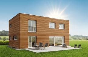 SWISSHAUS: SWISSHAUS lanciert Holzhaus MODULA: Das variantenreiche Haus für anspruchsvolle Holzliebhaber