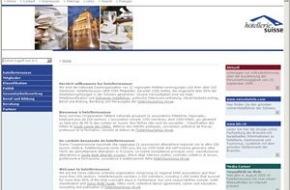 hotelleriesuisse: hotelleriesuisse und hotel+tourismus revue: Neuauftritt im Web