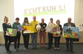 Schülerwettbewerb ECHT KUH-L!: ECHT KUH-L!: 42 Preisträger beim bundesweiten Schülerwettbewerb ausgewählt