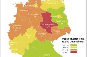 BÜRGEL Wirtschaftsinformationen GmbH & Co. KG: Firmeninsolvenzen steigen im 1. Quartal 2013 um 0,8 Prozent