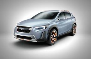 Subaru: Subaru XV Concept debütiert auf dem Genfer Autosalon