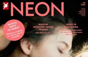 """Gruner+Jahr, NEON: Cosma Shiva Hagen im NEON-Interview: """"Als Teenager habe ich mich bei Liebeskummer oft bei meinem Patenonkel ausgeheult."""""""