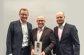 Skoda Auto Deutschland GmbH: Connected Car Award für SKODA SmartGate