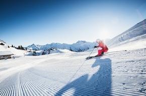 Lech-Zürs Tourismus GmbH: Für aktive und entspannte Sonnenanbeter: Die Firnskilaufzeit in Lech Zürs am Arlberg