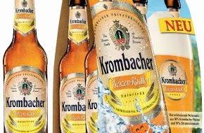Krombacher Brauerei GmbH & Co.: Jetzt neu: Krombacher Weizen-Radler und Krombacher Weizen-Radler Alkoholfrei