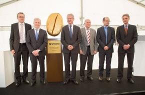 Nestlé Nespresso SA: Nespresso beginnt mit dem Bau seines dritten Produktionszentrums