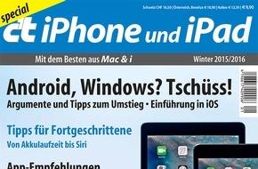 c't: Argumente für den Wechsel zu iPhone und iPad / Apples Update-Bilanz überzeugt