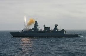 Presse- und Informationszentrum Marine: Deutsch-norwegische Kooperation - Flugkörperschießen der Deutschen Marine beim norwegischen Andoya Test Center