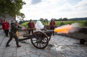 Museum Aargau: Die stolze Lenzburg ist belagert / Authentischer Mittelalterspektakel mit über 100 Mitwirkenden