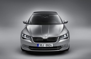 Skoda Auto Deutschland GmbH: Design des neuen SKODA Superb ausgezeichnet: Flaggschiff erhält ,Best of Best' Award des German Design Council