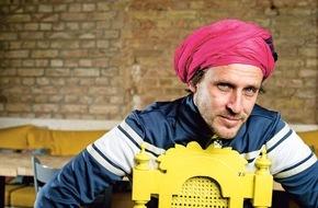 "KARE Design GmbH: Veranstaltungshinweis: Starkoch Chakall präsentiert sein neues Kochbuch ""Chakall´s Sudaka - südamerikanische Trendküche""  am 19. Mai 2015 in München"
