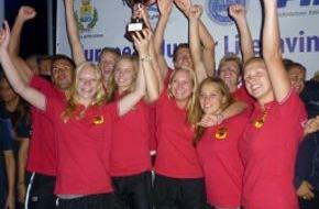 DLRG - Deutsche Lebens-Rettungs-Gesellschaft: Deutsches Team wird Junioreneuropameister