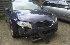 Polizeiinspektion Cuxhaven: POL-CUX: A 27 nach Unfall voll gesperrt