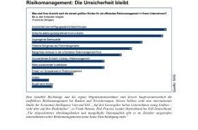 SAS Institute: Risikomanagement: Die Unsicherheit bleibt (mit Bild)