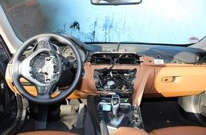 AUTO BILD: AUTO BILD-Report: BMW-Modelle Nummer eins beim Navi-Klau