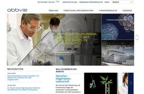 AbbVie Deutschland GmbH & Co KG: abbvie.de: Neuer Internetauftritt des BioPharma-Unternehmens AbbVie Deutschland