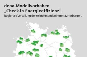 """Deutsche Energie-Agentur GmbH (dena): Startschuss für die Herbergen der Zukunft / Teilnehmer im dena-Modellvorhaben """"Check-in Energieeffizienz"""" stehen fest"""