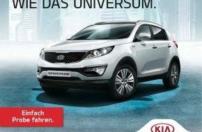 """KIA Motors Deutschland GmbH: Willkommen im Kia-Kosmos: Automobilhersteller startet """"Intergalaktische Wochen"""""""