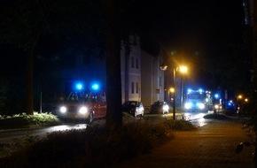 Feuerwehr Detmold: FW-DT: Feuer in Wohnheim