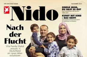 """Gruner+Jahr, Nido: Axel Prahl im NIDO-Interview: """"Das Beste, was man für die Familie tun kann, ist gemeinsame Zeit zu haben."""""""