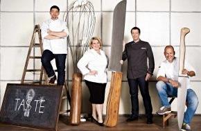"""SAT.1: Jetzt werden die Messer gewetzt! Die zweite Staffel von Deutschlands größter Koch-Show """"The Taste"""" startet nächsten Mittwoch in SAT.1"""