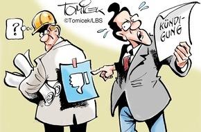 Bundesgeschäftsstelle Landesbausparkassen (LBS): Verdacht reicht nicht / Bauherr muss triftige Gründe für Kündigung einer Firma benennen