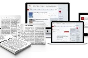 Domaine Public: «Domaine Public»: un média politique suisse indépendant fête ses 50 ans