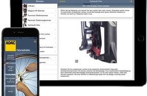 """ADAC: ADAC Verlag: Neue App """"Fahrradhelfer"""" / Reparaturanleitungen und Wartungstipps jetzt erstmals auch für E-Bikes"""