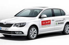 Skoda Auto Deutschland GmbH: SKODA fährt die Stars zum ECHO Klassik