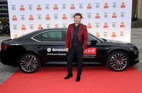 Skoda Auto Deutschland GmbH: ECHO Klassik 2015: SKODA als exklusiver Mobilitätspartner am roten Teppich