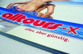 """alltours flugreisen gmbh: alltours bietet ab sofort bis 31. März kostenfreie Umbuchung für Katalogreisen """"Sommer 2016"""""""