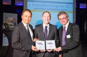 Hapag-Lloyd Kreuzfahrten GmbH: Kreuzfahrt Guide Award 2013: Doppelsieg für Hapag-Lloyd Kreuzfahrten mit der EUROPA 2 und der BREMEN